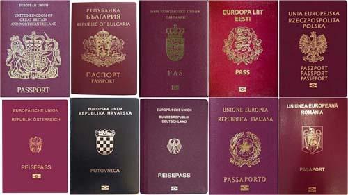 Con un solo pasaporte: se tiene acceso a 28 consulados