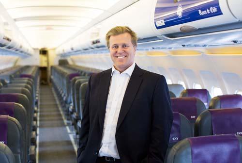 Holger Paulmann, CEO de SKY Airlines