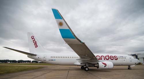 Durante el invierno Andes suma vuelos en Argentina y Brasil