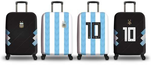 Tu valija está lista para alentar a la Selección