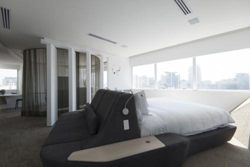 Una cama a 360º en un Pullman de San Pablo