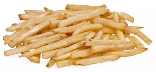 Las papas fritas se achicaron en Bélgica