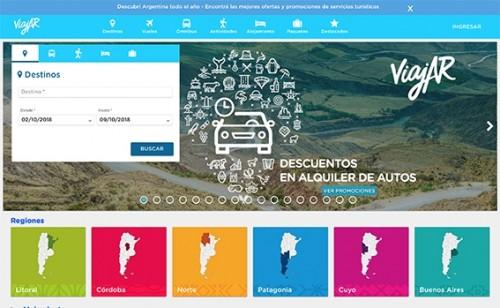 El nuevo portal ViajAR, en cinco puntos