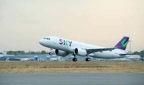 Sky presentó sus nuevos aviones