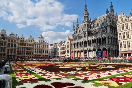 Scooters en libre servicio en Bruselas