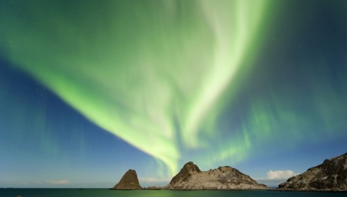 Las mejores auroras boreales de Noruega
