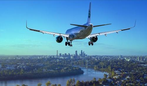 4,3 mil millones de pasajeros en los aviones en 2018