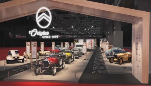 Los cien de años de Citroën en Rétromobile