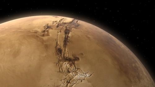Podes mandar un saludo a Marte