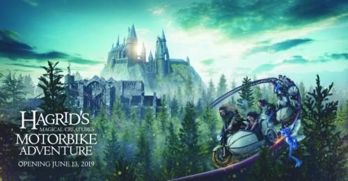 Un fantástico viaje con la moto de Hagrid en Universal Orlando