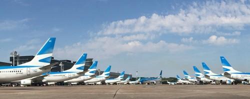 1,8 millones de asientos para volar este invierno con Aerolíneas Argentinas