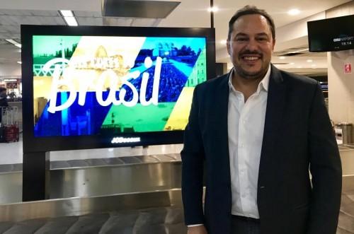 Germán Carmona,  Gerente de Marketing de Gol