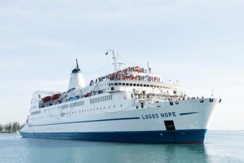 El buque Logos Hope llega a Buenos Aires