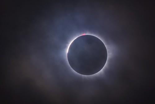 Un eclipse total de Sol en la Argentina y Chile