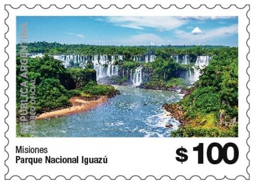 Sellos postales con los parques nacionales argentinos