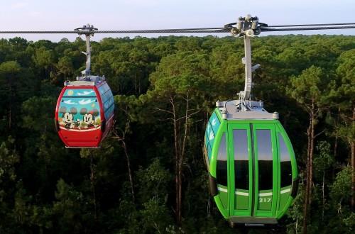 Disney Skyliner: para volar de parque en parque
