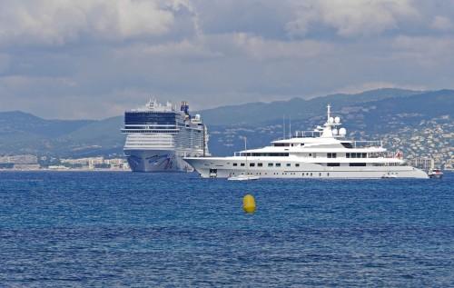 Cannes prohibirá los cruceros contaminantes