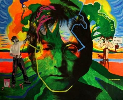 Una muestra sobre John Lennon en Buenos Aires