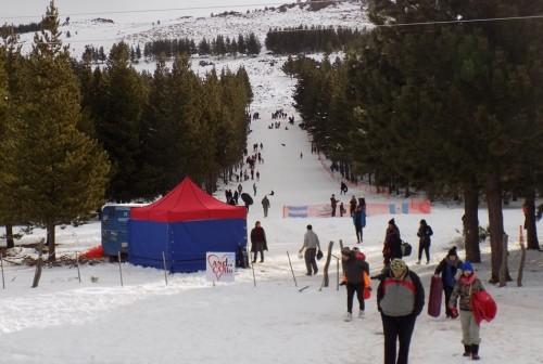 Crearon un nuevo parque de nieve en Neuquén