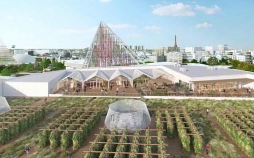 Abrirán una granja sobre los techos de París