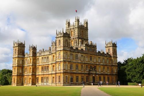 Los verdaderos lugares de Downton Abbey