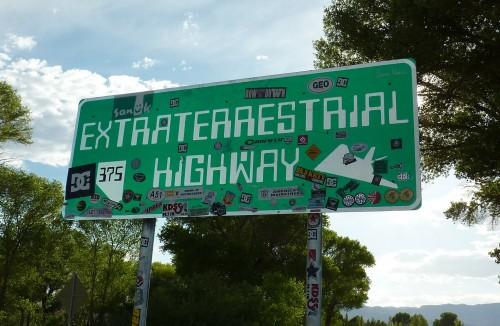 En Nevada: la ruta de los extraterrestres