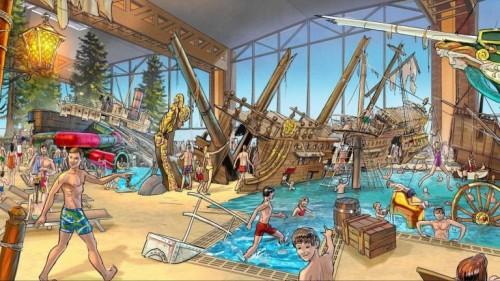 El parque acuático de Europa Park abrirá en noviembre