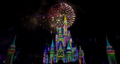 Así es el show de pirotecnia este año en Walt Disney World Resort