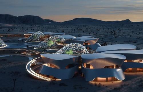 Un pueblo intergaláctico en el desierto de California