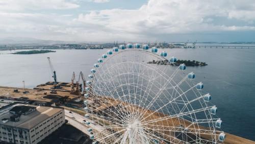 Río estrena la rueda más alta de América Latina