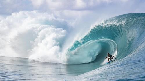 Los JO 2024 de París, también en Tahiti