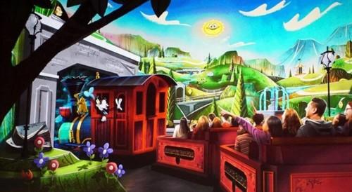 En los parques Disney, abrirá la primera atracción con Mickey y Minnie