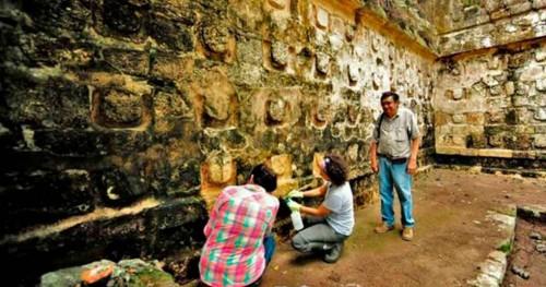 Descubrieron un nuevo palacio maya en Yucatán