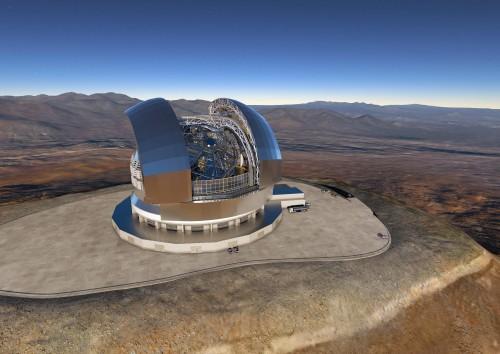 Así será el super telescopio europeo en Chile