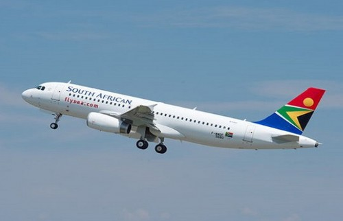South African Airways suspende 100 vuelos en febrero