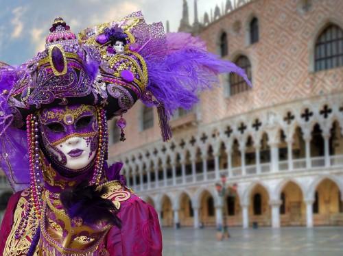 Venecia: empezaron las fiestas del carnaval 2020