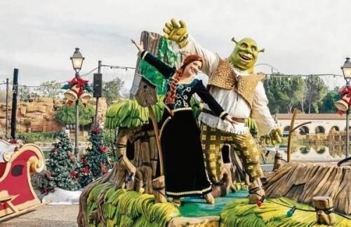 Shrek celebra los 25 años de Port Aventura