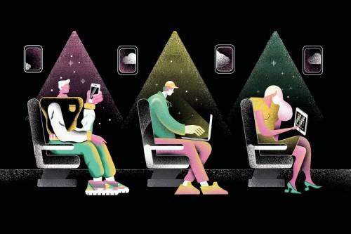 Li Fi: la nueva conectividad a bordo de los aviones