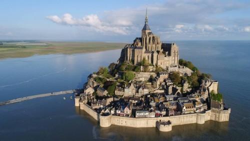 Monte Saint-Michel: sin turistas por primera vez