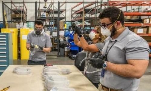 Delta Airlines fabrica insumos sanitarios durante la pandemia