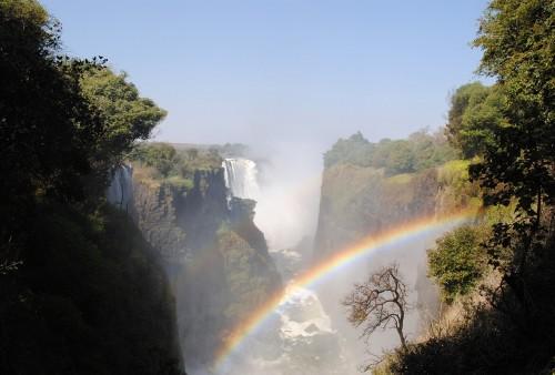 Durante la cuarentena: sumergite en las Cataratas Victoria