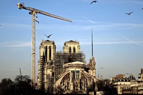 Notre-Dame de París: un año después del incendio