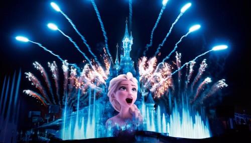 Disneyland Paris comparte su show nocturno en las redes