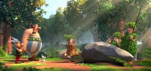 Asterix y Obelix en 4D