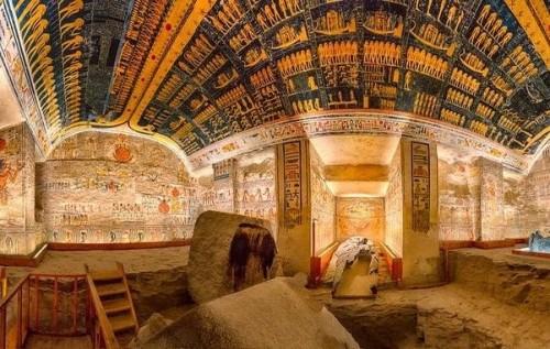 Durante la cuarentena: visitá la tumba de Ramses VI