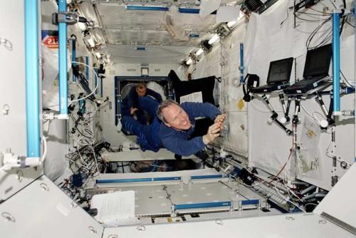 El confinamiento de los astronautas