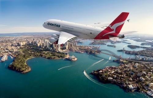 Qantas: no quiere distanciamiento en sus aviones