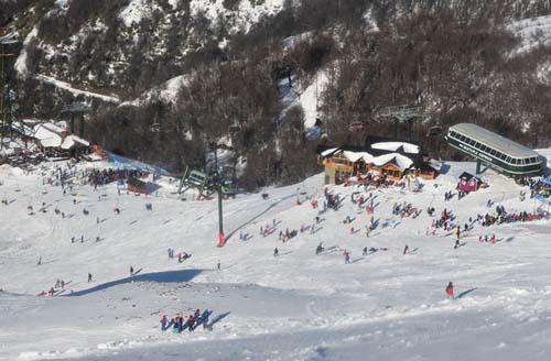 Ya arrancó la temporada de nieve 2015