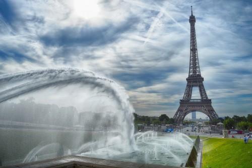 Durante la cuarentena: subí a la Torre Eiffel
