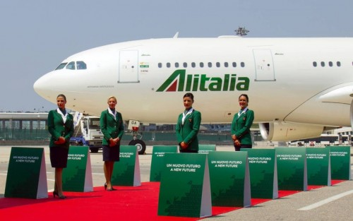 Asi es la nueva Alitalia